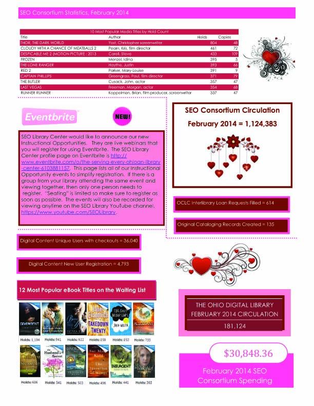 February 2014 SEO Consortium stats
