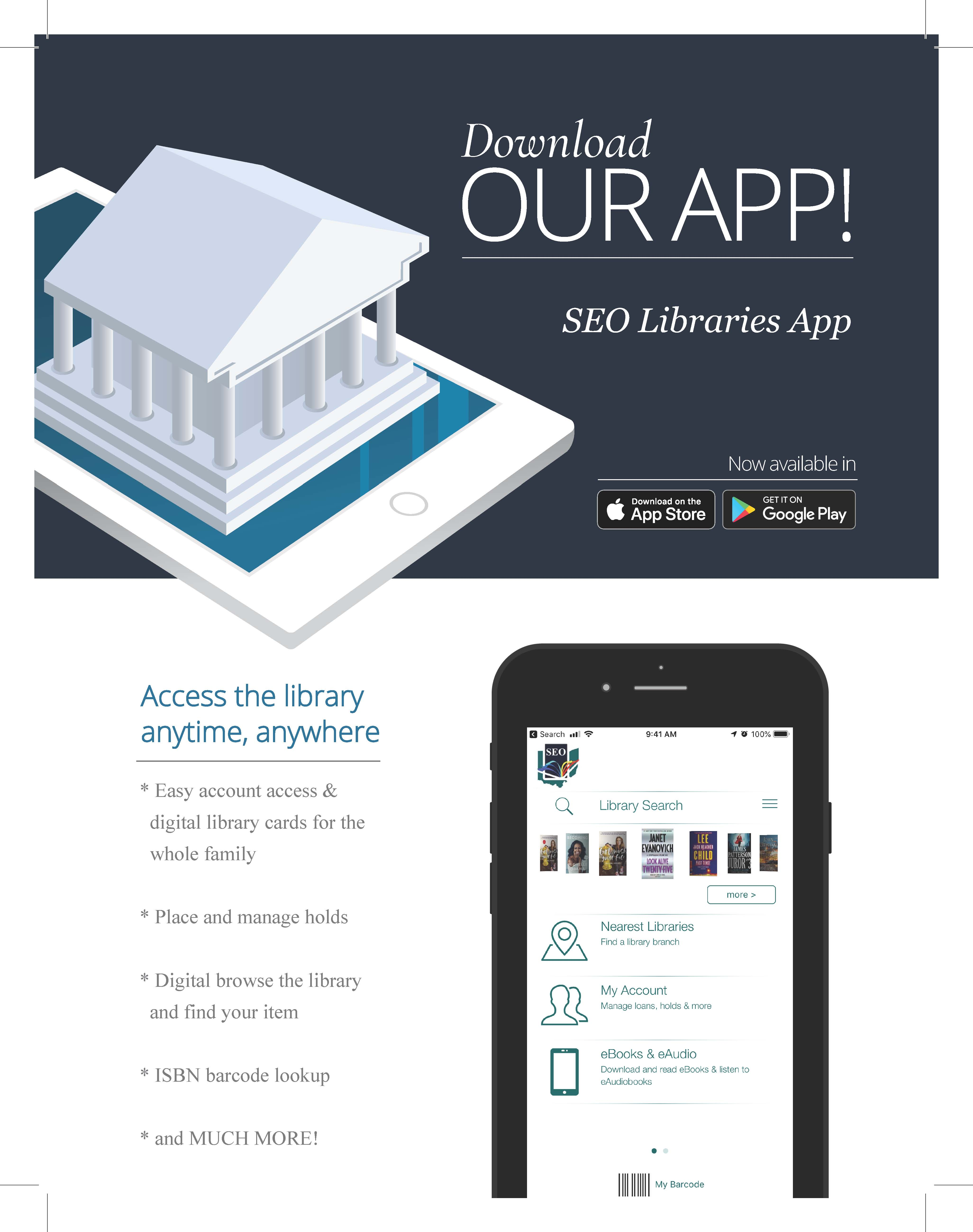 The new SEO Libraries App is now available for Apple and